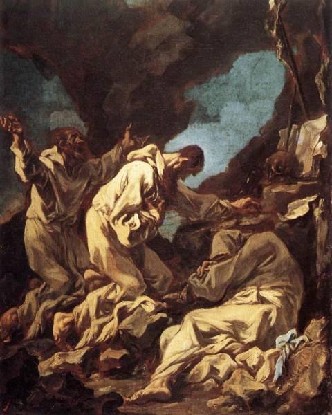 Three Camaldote Monks at Prayer